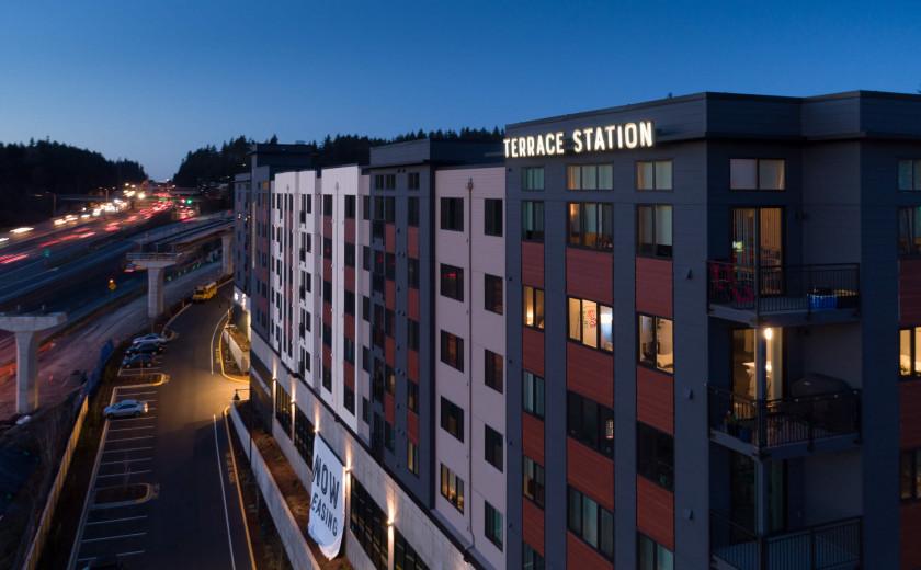 Terrace Station, Building 1 image: MLT031021D-146